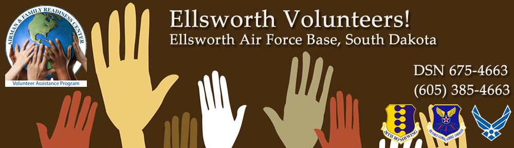 Ellsworth AFB Volunteers!